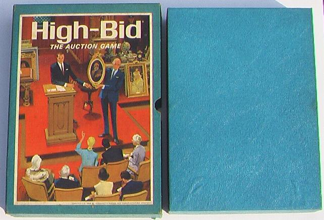 High Bid 3M Bookshelf Games