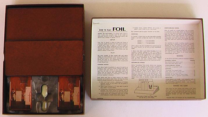 Foil 3M Bookshelf Game