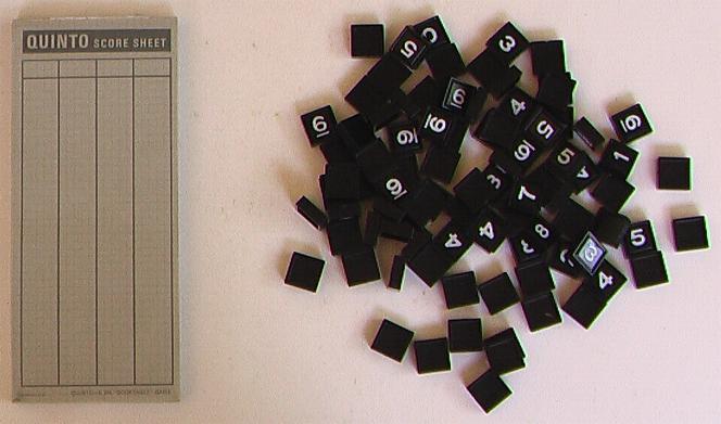 Quinto 3M Bookshelf Game