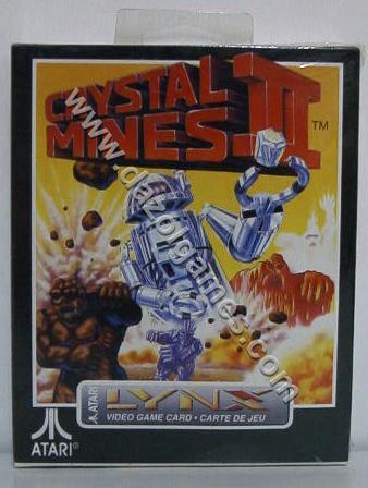 Crystal Mines 2 - Atari Lynx