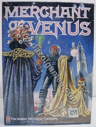 Avalon Hill Merchant of Venus