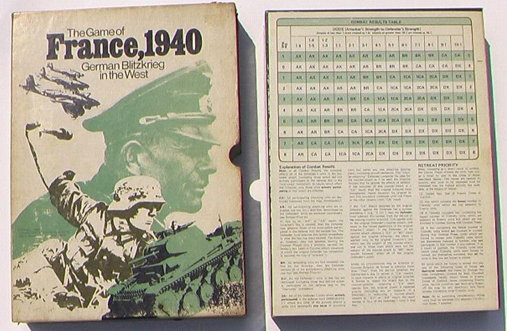 Avalon Hill France, 1940
