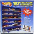 1997 Hot Wheels Collector Starter Case by Mattel