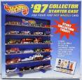 1997 Hot Wheels Collector Starter Case by Mattel