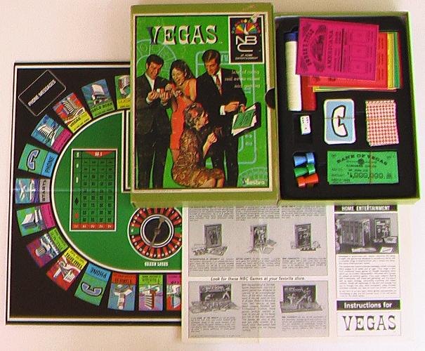 Vegas Bookshelf Game - NBC Games