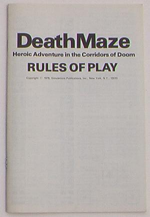 Death Maze SPI Game
