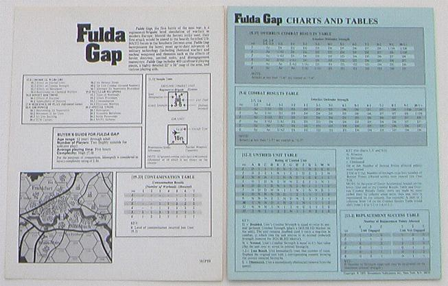 Fulda Gap SPI Game