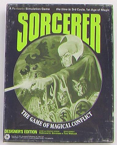 Sorcerer SPI Game