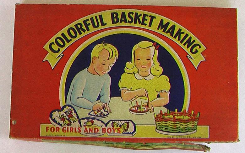 Colorful Basket Making