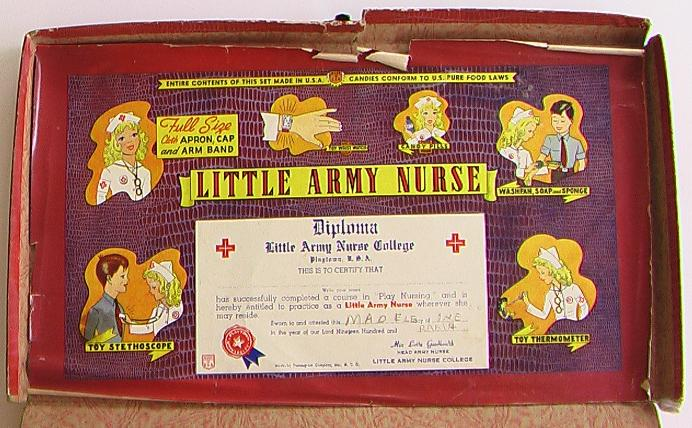 Little Army Nurse